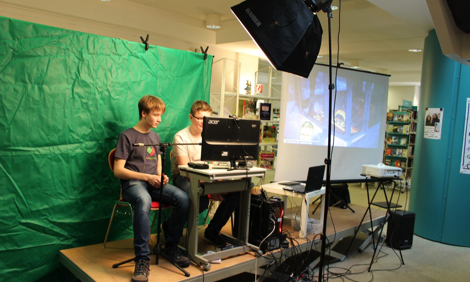 GAMES ON! Medien aktiv und kreativ.
